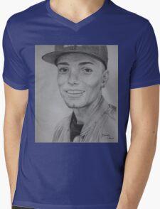 Omer Bhatti Mens V-Neck T-Shirt