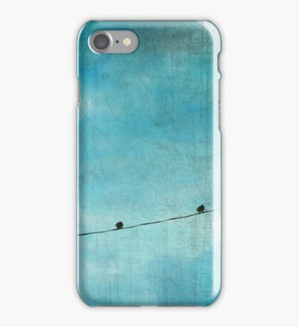 Inches Away, Miles Apart iPhone Case/Skin