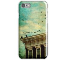 In Her Heart, Words Unsaid iPhone Case/Skin