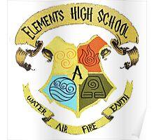 Elements High School Poster