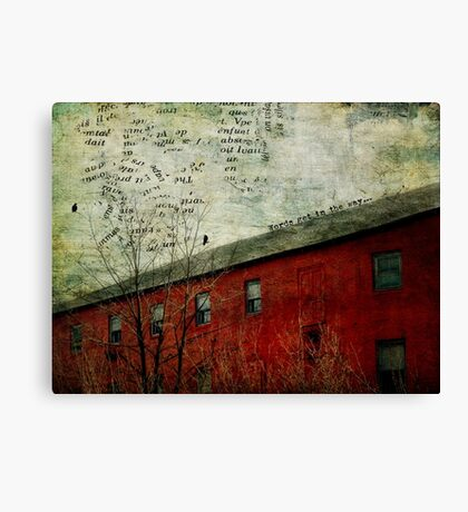 You Don't Hear What My Heart is Saying Canvas Print
