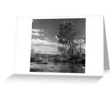 Sunday River Walk Greeting Card