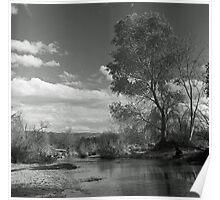 Sunday River Walk Poster