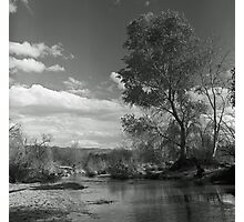 Sunday River Walk Photographic Print