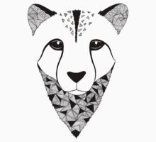 Cheetah black and white Kids Clothes