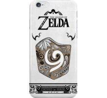 Zelda legend Kokiri shield iPhone Case/Skin