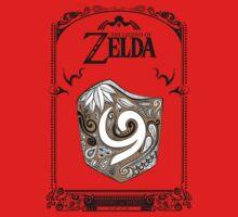 Zelda legend Kokiri shield One Piece - Long Sleeve