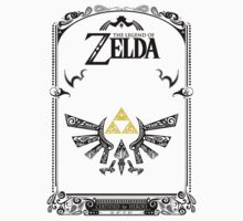 Zelda legend Hyrule T-Shirt