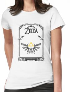 Zelda legend Hyrule Womens Fitted T-Shirt