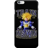DBZ - Train Insayan Capsule Corp. Academy iPhone Case/Skin