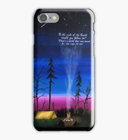 ends of the earth iPhone Case/Skin