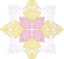 flower pod - papercut patterns by Sid's Papercuts 8<
