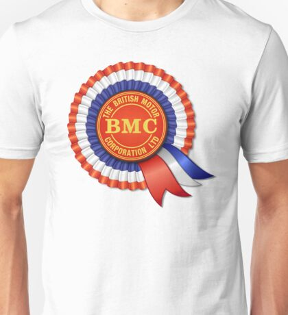 British Motor Corporation (BMC) Rosette Unisex T-Shirt