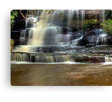 Muddy Waters - Somersby Falls, NSW Canvas Print