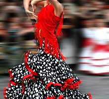 Spanish Dancer by OTBphotography