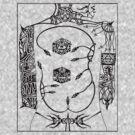 tattoo b/w by edwin rivera