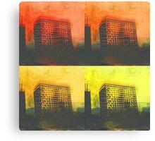 burning skies  Canvas Print