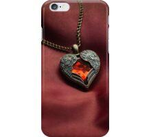 Heart shaped pendant iPhone Case/Skin