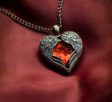 Heart shaped pendant by JBlaminsky