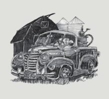 Old Farm Truck by donpoole