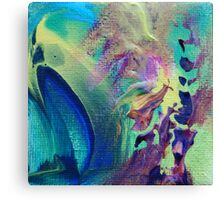 """Eclectic"" original abstract artwork Canvas Print"