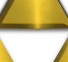 Triforce Tee (Large) Sticker