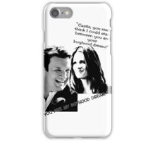 Boyhood Dream B/W iPhone Case/Skin