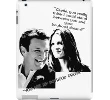Boyhood Dream B/W iPad Case/Skin