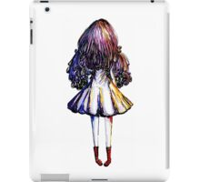 Girl and Red Doc iPad Case/Skin