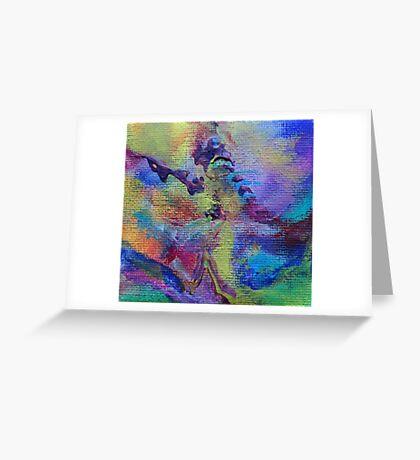 """Dreamscape No.4"" original abstract artwork Greeting Card"