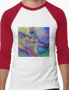 """Dreamscape No.4"" original abstract artwork Men's Baseball ¾ T-Shirt"