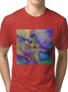 """""""Dreamscape No.4"""" original abstract artwork Tri-blend T-Shirt"""
