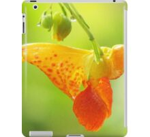 Jewelweed (Impatiens Capensis)  iPad Case/Skin