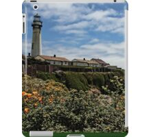 Pigeon Point Lighthouse with Poppies iPad Case/Skin