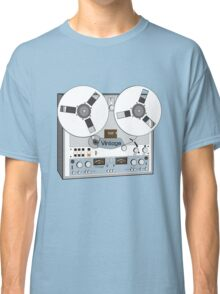 Reel Vintage Tape Deck Classic T-Shirt