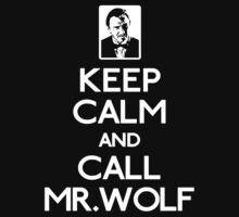 Call mr wolf white by keepkarl