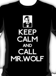 Call mr wolf white T-Shirt