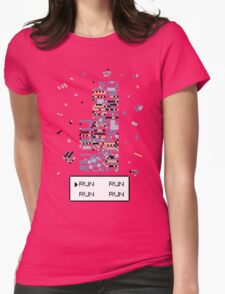 A Wild Missingno. appeared! Womens Fitted T-Shirt