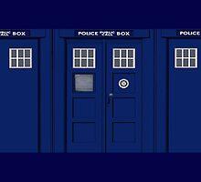 Police box by masterchef-fr