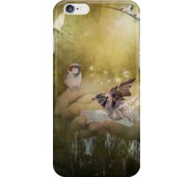 The hands of God iPhone Case/Skin