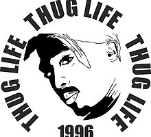 Thug Life 2pac by Erdisign