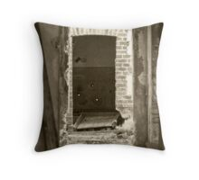 Dark & Dingy Throw Pillow