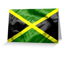 Jamaica Flag Greeting Card