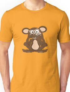 Silent Monkey Tee (fur) Unisex T-Shirt