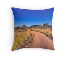 Australia, outback Throw Pillow