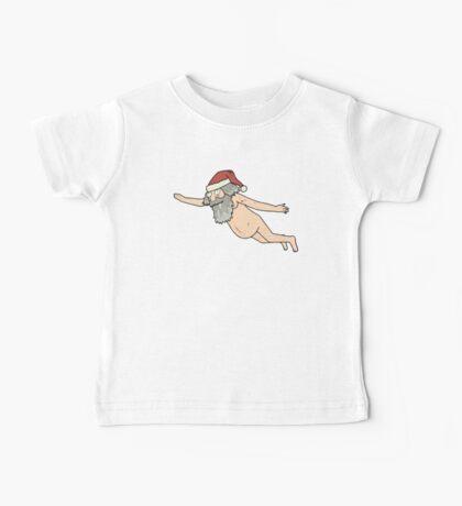 Rick & Morty - Giant Naked Sky Santa! Baby Tee