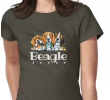 Beagle Lover Womens Fitted T-Shirt