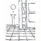 In remember : Bottle in Bathroom by LINEart