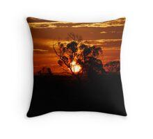 Sunset Berri 1 Throw Pillow