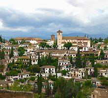Albaicín desde Alhambra by Antonio Jose Pizarro Mendez